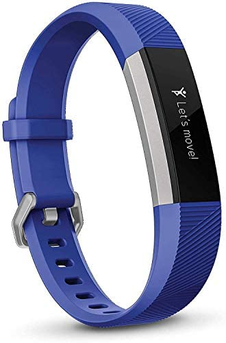 Ace's Activity Tracker for Kids 8 Power Blue and Purple/Stainless Steel One Size