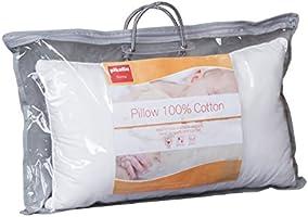 Medium Hardness Pikolin Home/ /Fibre Pillow white 30 x 50 cm 100/% Cotton Anti Dust Mite