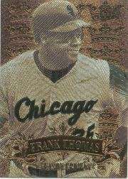 (1997 Ultra Season Crowns #12 Frank Thomas Near Mint/Mint)