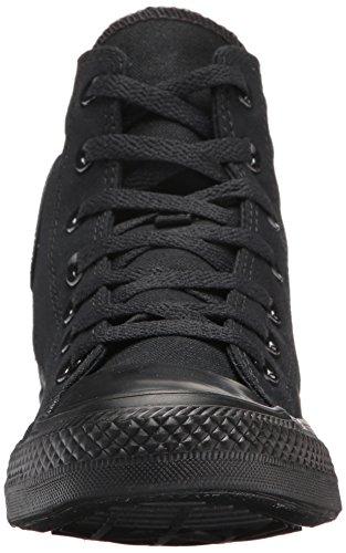 Converse As Hi Can Optic. Wht, Zapatillas unisex Negro (black Monochrome)
