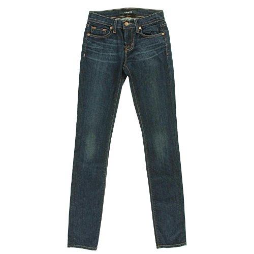 J Brand Womens Dark Wash Denim Skinny Jeans Blue 26