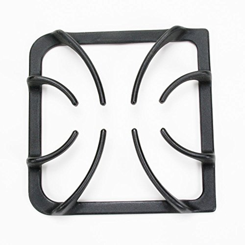 - 316202405 Range Surface Burner Grate Genuine Original Equipment Manufacturer (OEM) Part Black