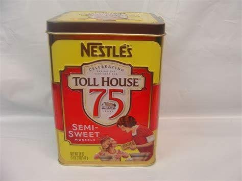Nestle Toll House Morsels Tin, 75 Years of Memories Tin