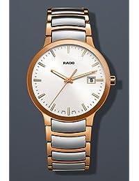Rado Centrix Quartz Two-Tone Stainless Steel Mens Watch R30554103 by Rado