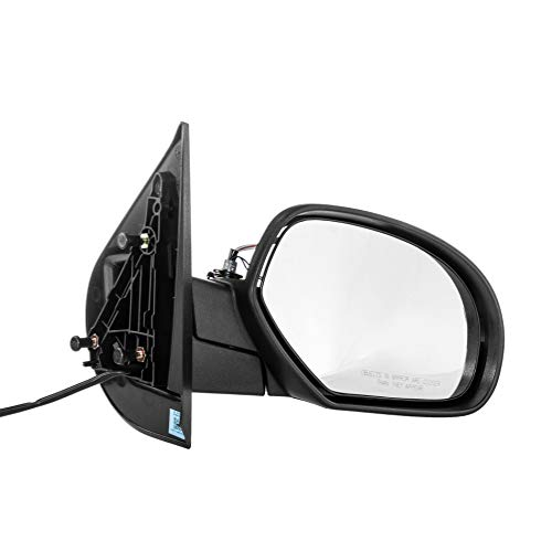 - Right Passenger Heated Folding Power Operated Side Door Mirror for 07-13 Chevy Suburban, GMC Yukon - 07-14 Chevy Silverado, Chevy Tahoe - 2011-2014 GMC Sierra - GM1321336