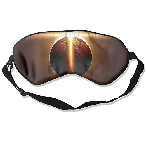 Price comparison product image Sleep Mask Solar Eclipse Sun Eye Cover Blackout Eye Masks,Soothing Puffy Eyes,Dark Circles,Stress,Breathable Blindfold For Women Men