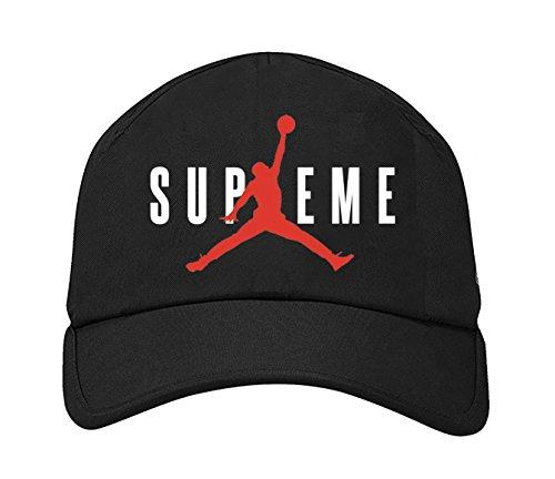 il migliore acquistare andare online Cappellino Baseball e Snap Back Jordan Supreme mod.3 - Riproduzione fedele  - Taglia Unica regolabile (Modello Baseball)