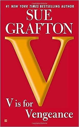 V is for Vengeance: A Kinsey Millhone Novel 9780425250563 Crime, Thriller & Mystery at amazon