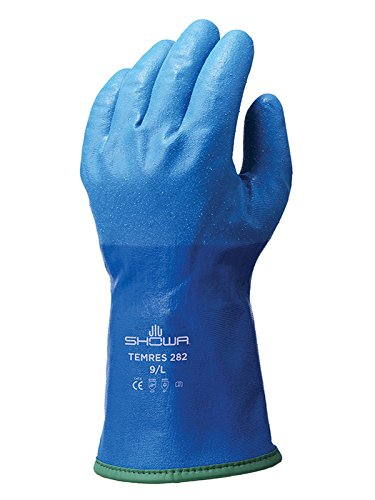 Showa Gloves SHO282-M Temres 282 Thermal Glove, Size: M, Blue