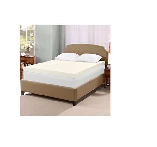 Touch Of comfort Ultimate 4-inch Visco Memory Foam Mattress Topper - Queen (Serta Memory Foam 3 Inch Mattress Topper Reviews)