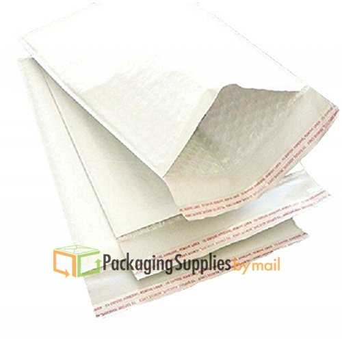#5 10.5x16 WHITE BUBBLE MAILERS SHIPPING MAILING PADDED ENVELOPES 10.5'' x 16'' 500 Bags by PSBM