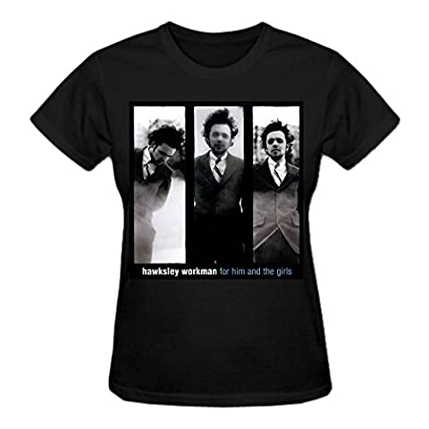 Hawksley Workman For Him The Girls T Shirts For Women Black (Brad Mehldau Sheet Music)