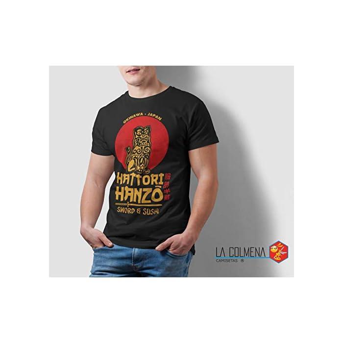41dwvAJ6K5L Antes De Elegir Tu Talla Comprueba Las Medidas Que Aparecen A La Izquierda Debajo Del Producto Camiseta 100% Algodón, PESO: 185 g/m2 - Impresión Digital Directa Algodón
