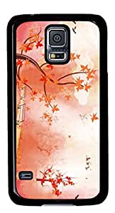 Autunm landscape Easter Thanksgiving Personlized Masterpiece Limited Design PC Black Case for Samsung Galaxy S5 I9600 by Cases & Mousepads