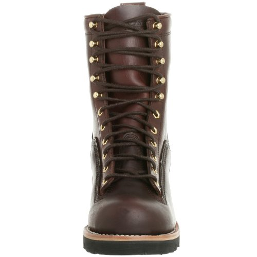 Chippewa Mens 8 Naald-tot-teen 73075 Logger Laars Redwood