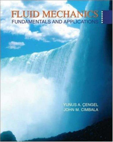 Fluid Mechanics: Fundamentals and Applications (Book & DVD)