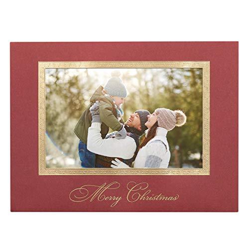 Traditional Merry Christmas Photo Christmas Card