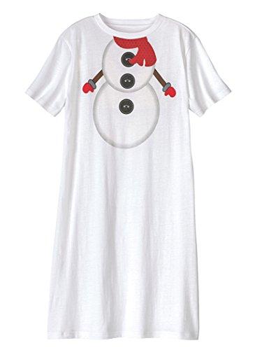 AmeriMark Holiday Nightshirt Plus Size