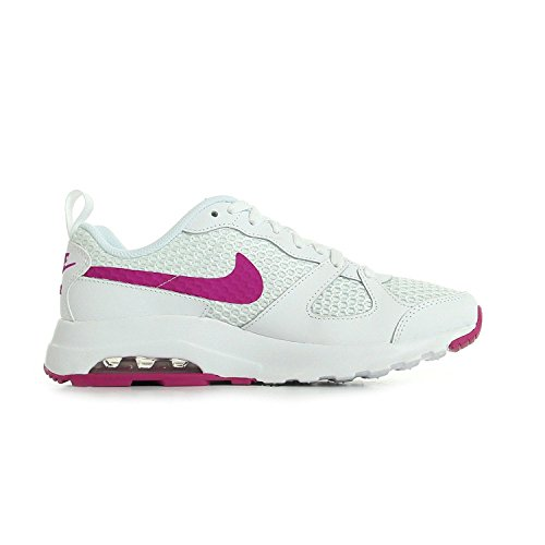 Nike Womens Air Max Muse Running Shoes White/Fuchsia Flash