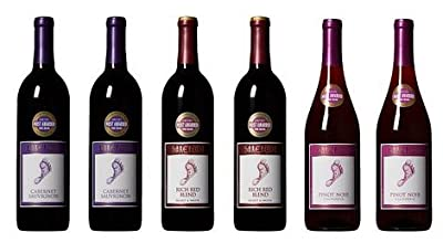 Barefoot Cellars California Heart and Sole Red Wine Mixed Pack, 6 x 750mL by Barefoot Wine & Bubbly