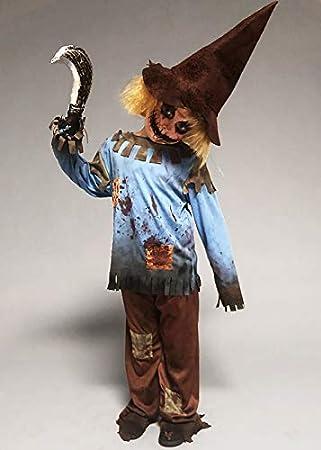 Struts Disfraz de espantapájaros Zombie de Halloween para niños ...