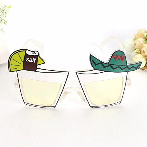 Halloween,Skuleer(TM) Funny Lemon Juice Cocktail Wine Mexican Style Party Glasses Holiday Beaches Sunglasse Night Bar Club Party Supplies Decoration]()