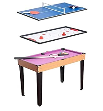 A Table Top Hockey / Mini Pool Table/ Table Tennis Game Three In One