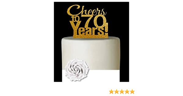 Glitter Cheers to 40 Years Cake Topper 40th Birthday Wedding Anniversary Cake Topper Happy 40th Birthday or Vow Renewal Party Decoration Supply Ideas