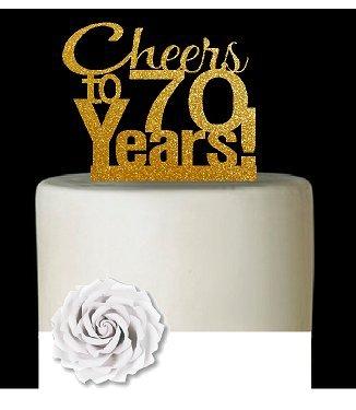 Surprising Cakesupplyshop Item070Cta 70Th Birthday Anniversary Cheers Funny Birthday Cards Online Amentibdeldamsfinfo