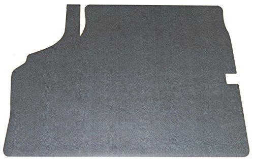 - (M-4-6) Compatible With 1970 Chevelle SS Herringbone Aqua Blue Foam Rubber Backed Spare Tire Trunk Mat