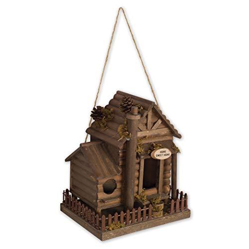 Cabin Birdhouse - 3