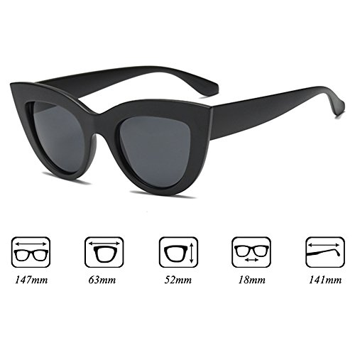 Cat Lens Sun Gradient Sunglasses Mujeres Glasses UV400 Juleya C8 Triangle Eye Sexy dYaqdwZ