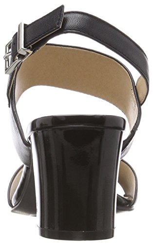 Black 28302 Nappa Sandalen 22 Schwarz Damen Slingback CAPRICE pfnXaa