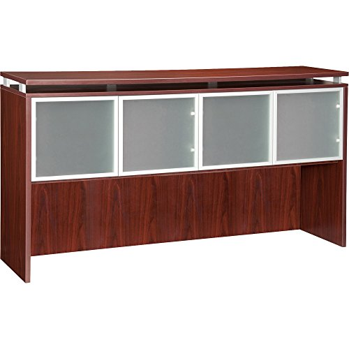 Lorell 68708 Hutch, Alum. Frame, Frost, 72