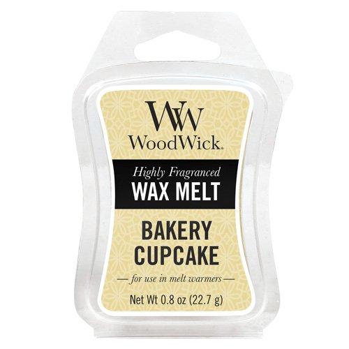 Woodwick Mini Wax Melt Bakery Cupcake, Yellow 57251