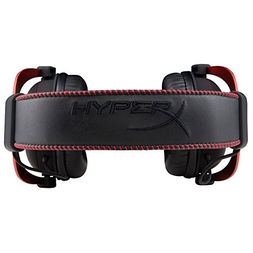 41dwyo3PSCL - HyperX Cloud II Gaming Headset for PC & PS4 & Xbox One, Nintendo Switch - Red (KHX-HSCP-RD)