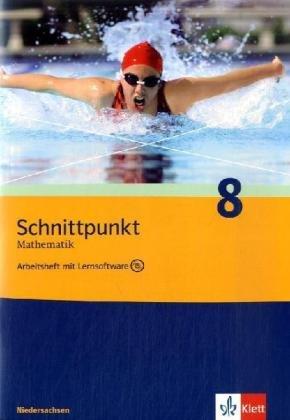 Schnittpunkt Mathematik - Ausgabe für Niedersachsen / Arbeitsheft mit Lernsoftware und Lösungsheft 8. Schuljahr