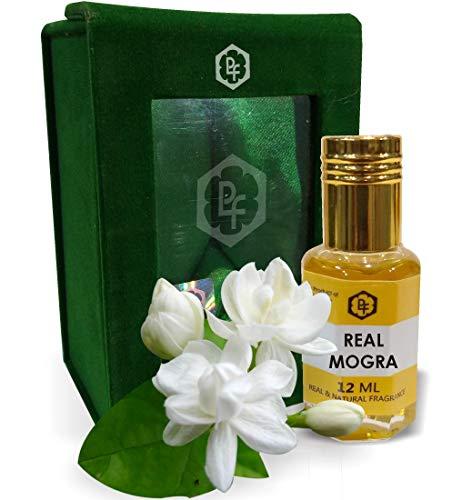 Parag Fragrances REAL MOGRA 12ML Real & Natural Attar , Best Attar For Man and Woman , 100 % Alcohol Free & Long Lasting Attar .