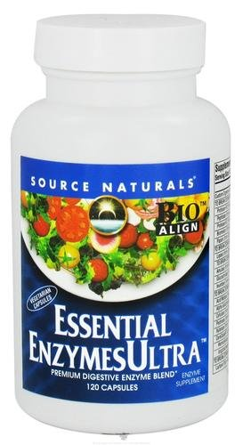 Source Naturals Essential EnzymesUltra Bio-Aligned Multiple Daily Supplement - 120 ()