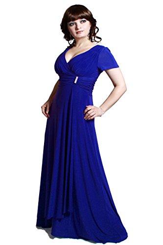 e Anny Lee Royalblau Farbe Empire Gr Abendkleid Damen rrwBqUY