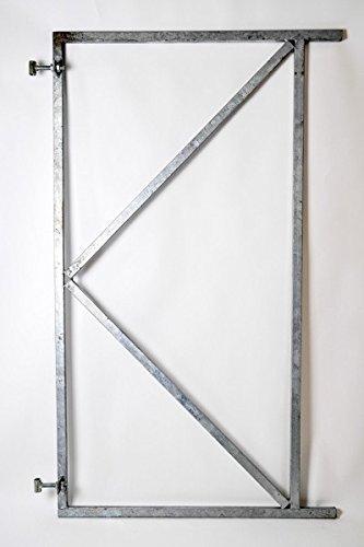 B-Ware Tor-Rahmen versch.Größen Gartentor, 61948 Größe:1550 x 1000 mm