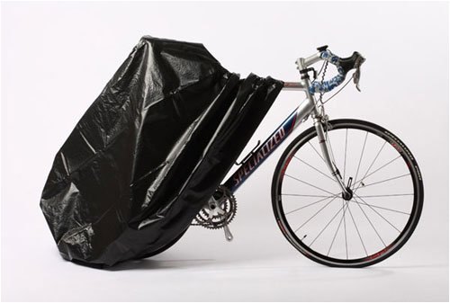 Zerust 84 in x 59 in Bicycle Cover with Zipper Closure - Rust Preventive Bicycle Storage Bag by Zerust