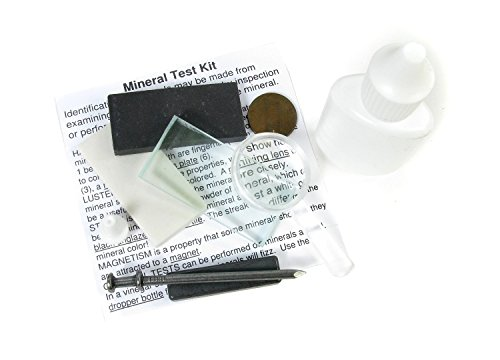 Mineral Test mineral fossil identification product image