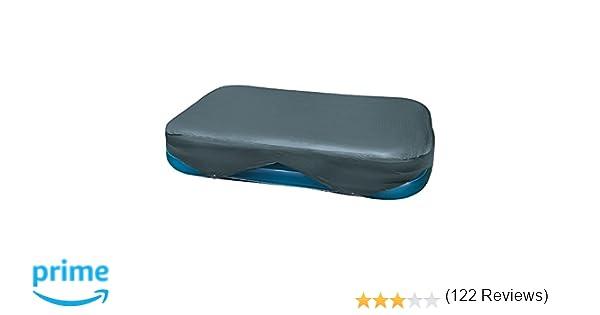 Intex 58412NP - Cobertor rectangular piscina 305 x 183 cm y 262 x 175 cm: Amazon.es: Jardín