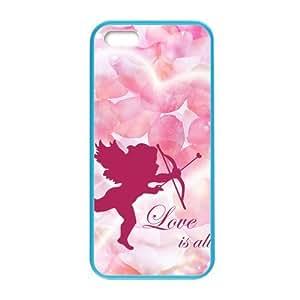 DIY Design Cupid Cherub Pattern Custom Colorful Case for iPhone 5,5s.