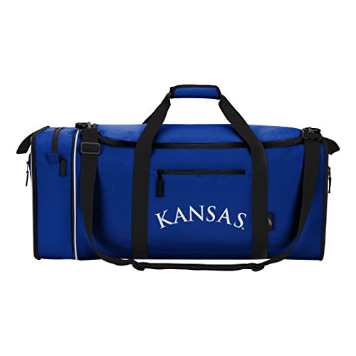 The Northwest Company Officially Licensed NCAA Kansas Jayhawks Steal Duffel Bag (Kansas Jayhawks Duffle Bag)