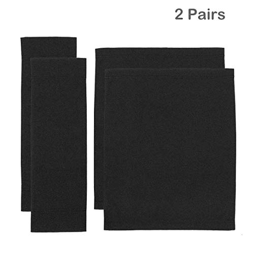 (Counting Mars 2 Set Replacement Cover Canvas for Directors Chair, Black, Large Size)