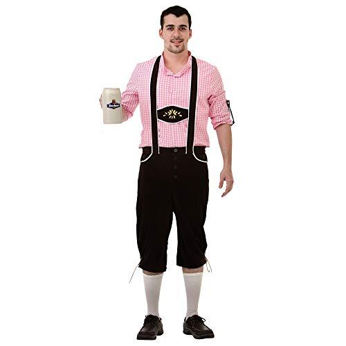 Boo Inc. Bavarian Bundhosen Men's Halloween Costume | Lederhosen (M) -