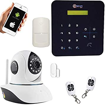 SecuriteGOODdeal-Alarma inalámbrica GSM y wi-fi A9-Cámara IP ...