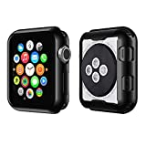 Casism Apple Watch Case iWatch Screen Protector Series 4/ 44mm (1pcs, Black)